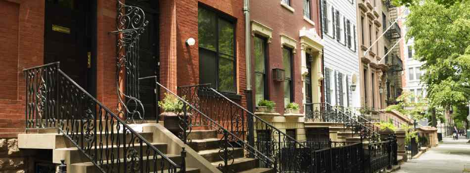 Brownstone Property In New York
