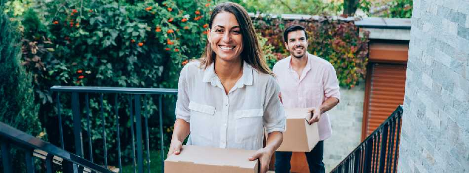 Home Buyers Moving In